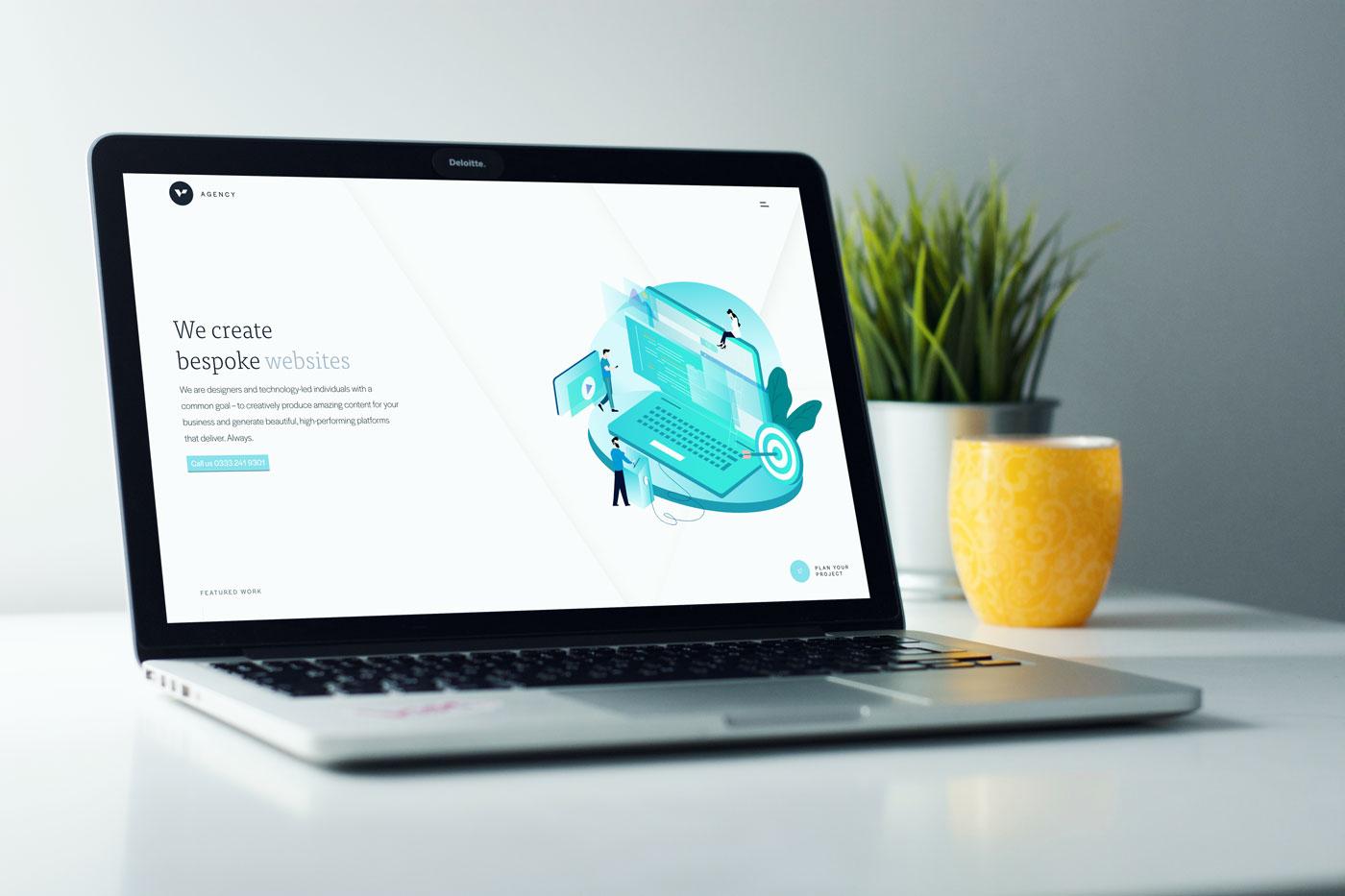 New Vital Agency website